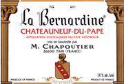2013 Maison Chapoutier Chateauneuf-du-Pape La Bernardine