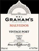 1987 Graham Vintage Port Malvedos
