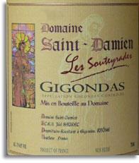 2012 Domaine Saint Damien Gigondas Les Souteyrades