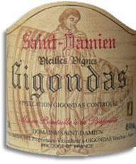 2007 Domaine Saint Damien Gigondas Vieilles Vignes