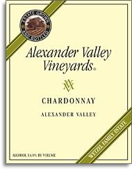 2010 Alexander Valley Vineyards Chardonnay Alexander Valley