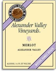 2009 Alexander Valley Vineyards Merlot Alexander Valley