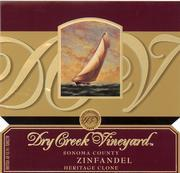 2011 Dry Creek Vineyard Zinfandel Heritage Sonoma County
