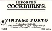 1983 Cockburn Vintage Port