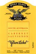 2010 Wolf Blass Wines Cabernet Sauvignon Yellow Label