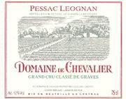 2007 Domaine de Chevalier Pessac-Leognan Blanc