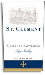 1997 St. Clement Vineyards Cabernet Sauvignon Napa Valley