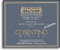 1997 Cosentino Winery Meritage Red The Poet Napa Valley