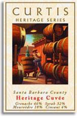 2010 Curtis Winery Heritage Cuvee Red Wine Santa Barbara County