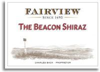 2011 Fairview Shiraz The Beacon Paarl