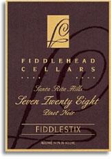 2010 Fiddlehead Cellars Pinot Noir Seven Twenty Eight Fiddlestix Sta Rita Hills