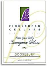 2011 Fiddlehead Cellars Sauvignon Blanc Goosebury Santa Ynez Valley