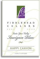 2011 Fiddlehead Cellars Sauvignon Blanc Happy Canyon Of Santa Barbara