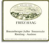 2011 Fritz Haag Brauneberger Juffer-Sonnenuhr Riesling Auslese #10