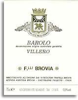 2010 Fratelli Brovia Barolo Villero