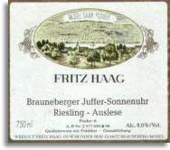 2011 Fritz Haag Brauneberger Juffer-Sonnenuhr Riesling Auslese #6