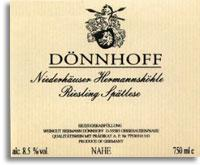 Vv Donnhoff Niederhauser Hermannshohle Riesling Spatlese