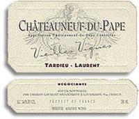 2012 Tardieu-Laurent Chateauneuf-du-Pape Blanc Vieilles Vignes