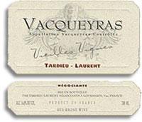 2011 Tardieu-Laurent Vacqueyras Vieilles Vignes