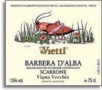 2006 Vietti Barbera d'Alba Scarrone Vigna Vecchia