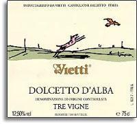 2012 Vietti Dolcetto d'Alba Tre Vigne
