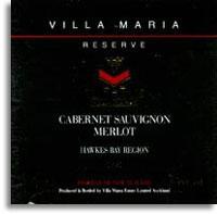 2008 Villa Maria Estate Cabernet Sauvignon Merlot Reserve Hawkes Bay