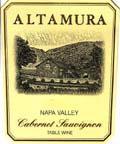 2002 Altamura Cabernet Sauvignon Napa Valley