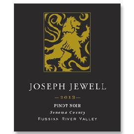 2011 Joseph Jewell Wines Pinot Noir Russian River Valley