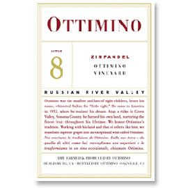 2013 Ottimino Estate Vineyard Zinfandel Russian River Valley