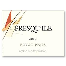 2011 Presqu'ile Winery Pinot Noir Santa Maria Valley