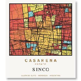 2014 Casarena Sinco Lujan de Cuyo Mendoza