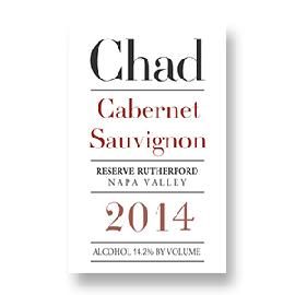 2014 Chad Cabernet Sauvignon Reserve Rutherford Napa Valley