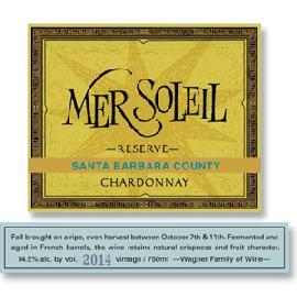 2014 Mer Soleil Chardonnay Reserve Santa Barbara