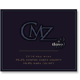 2014 Three Wine Company CMZ