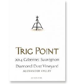 2014 Trig Point Cabernet Sauvignon Diamond Dust Vineyard Alexander Valley