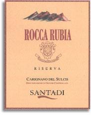 2009 Cantina Di Santadi Rocca Rubia Riserva Carignano Del Sulcis