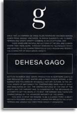2011 Compania De Vinos Telmo Rodriguez Dehesa Gago Toro
