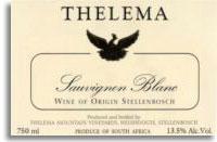 2014 Thelema Mountain Vineyards Sauvignon Blanc Stellenbosch