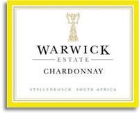 2008 Warwick Estate Chardonnay Stellenbosch
