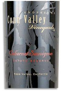 2001 Anderson's Conn Valley Vineyards Cabernet Sauvignon Estate Reserve Napa Valley