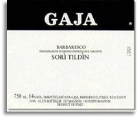 2004 Gaja Barbaresco Sori Tildin