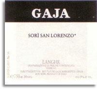 2010 Gaja Nebbiolo Sori San Lorenzo Langhe
