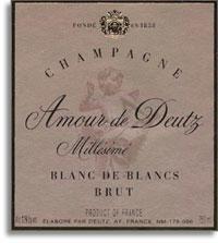 1995 Deutz Brut Blanc De Blancs Amour De Deutz