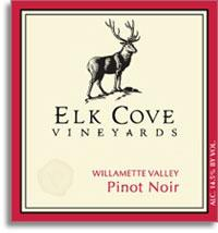 Vv Elk Cove Vineyards Pinot Noir Willamette Valley