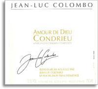 2013 Jean Luc Colombo Condrieu Amour Dieu