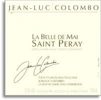 2011 Jean Luc Colombo Saint-Peray La Belle de Mai