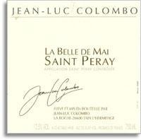 2012 Jean Luc Colombo Saint-Peray La Belle de Mai
