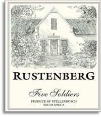 2007 Rustenberg Wines Chardonnay Five Soldiers Stellenbosch