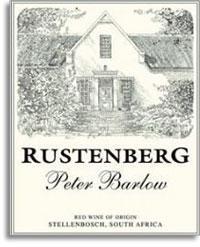 2005 Rustenberg Wines Peter Barlow Stellenbosch