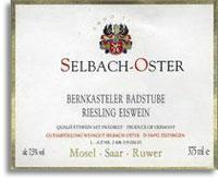 1998 Selbach Oster Bernkasteler Badstube Riesling Eiswein